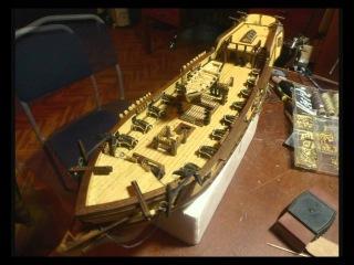 CORSAIR постройка деревянной модели корабля
