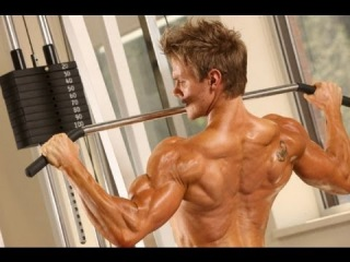 Rob Riches WBFF Fitness Model Contest Prep. 7 Weeks Out - Back