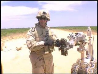 Bomb EOD Robot Longer Format