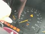 W163/ML320のスパナマークの消し方 maintenance indicator reset method