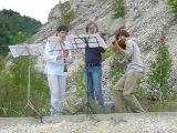 Две скрипки и кларнет. Концерт в Ширяево