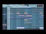 FL Studio Remake Diplo &amp Oliver Twizt - Go (Peace Treaty Remix) DiegoMolinams + Flp