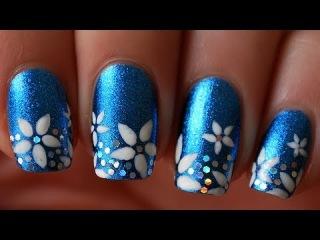 Tuto nail art : les fleurs en forme d'toile