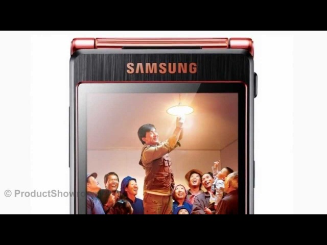 Samsung SCH-W2013 Quad-core, Dual screen flip phone, Designed for Jackie Chan