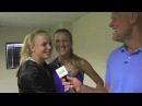 Vika Azarenka and Caroline Wozniacki Talk to TennisKidsZone's Murphy Jensen about their Friendship
