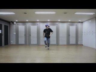 Dance practice by Jimin (Choreo by Lyle Beniga, Wale - Bait)