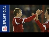 Niall McGinn Great Surging Run And Goal, Aberdeen 1-0 Dundee, 15/02/2013