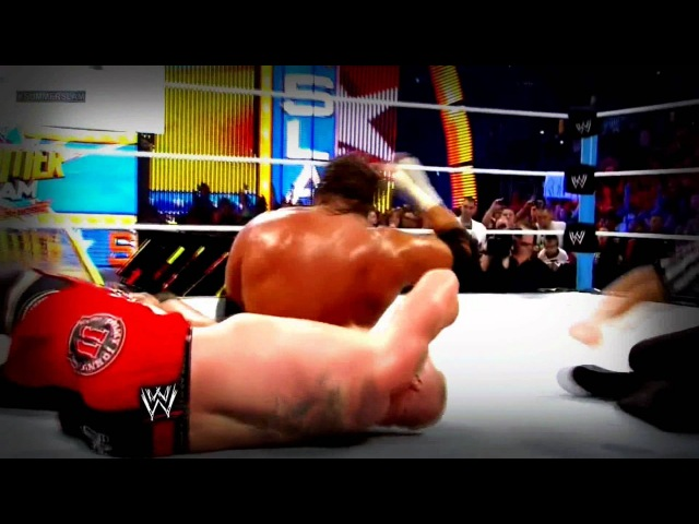 WWE SummerSlam 2012 Triple H Vs Brock Lesnar Real Full Highlights True 1080p HD