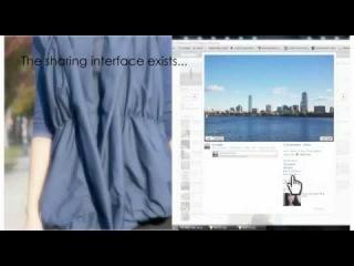 Куртка Facebook обнимает своего владельца, едва он получит «лайк» онлайн