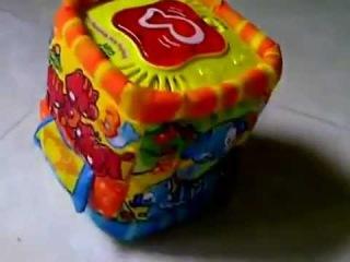 Игра кубик тканевый, на бат-ке, муз, свет, в кор-ке  цена 80,00грн