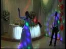 Невеста поёт на свадьбе 1-танец поздравление.flv