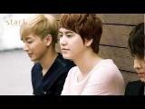 120716 Super Junior Plays basketball - Donghae Leeteuk Yesung Kyuhyun Sungmin