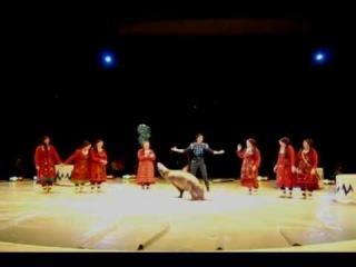Бурановские бабушки и морской лев в цирке Ижевска