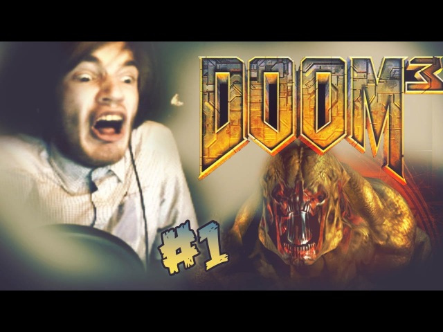 LET THE JUMPFEST BEGIN! - Doom 3 - Let's Play - Part 1