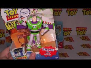 Обзор игрушки Баз Лайтер пластиковый с крыльями.