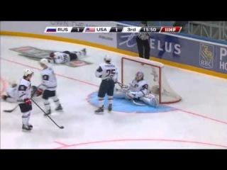 Россия - Сша 2-1. Rus - USA 2-1. IIHF WORLD JUNIORS CHAMPIONSHIP 2013.