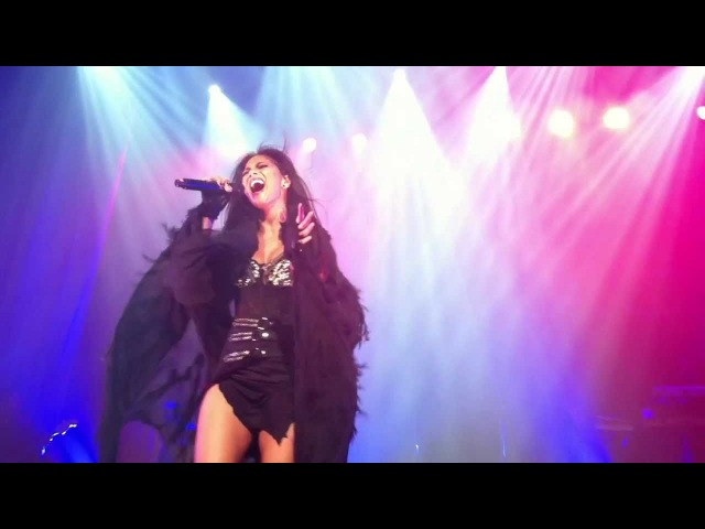 Nicole Scherzinger Try With Me Live at Ancienne Belgique Brussels Killer Love Tour