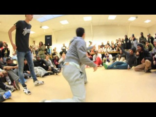 Battle Break Ya neck 2K13 | Battle Guest Hip-Hop | Shawn Vs Youri