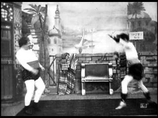 Экстравагантный бой толстого и тонкого (1900 г.)