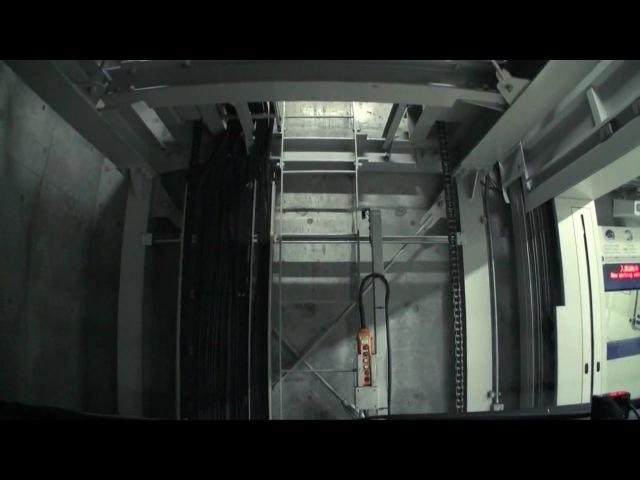 (HD) mechanical parking -六本木ヒルズ機械式駐車場-