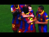 Xavi first Goal 1:0 FC Barcelona vs Real Madrid 5:0 5-0 El Clasico 29/11/10 HD