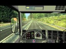 German truck simulator big map by mario in a scania 124l 420 part