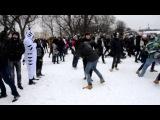 Москва, Парк Горького. Снежная битва (13 01 13 08).