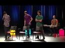 Os Barbixas - Improvável - Escolinha Improvável (Bruno Motta, Fábio Porchat e Daniel Tauszig)
