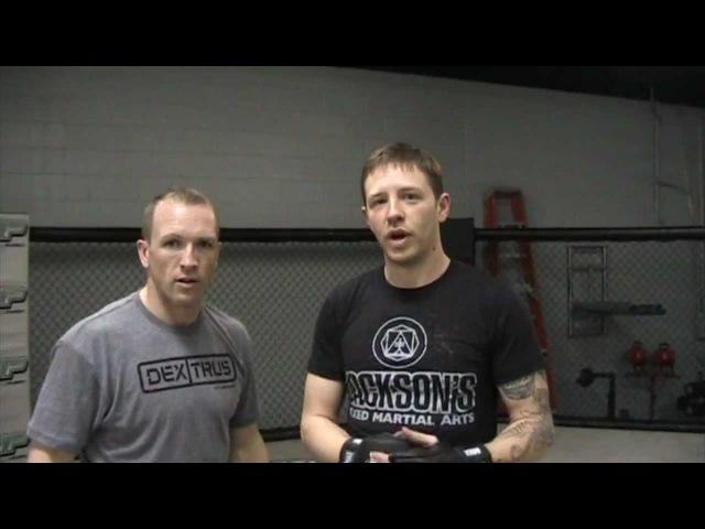 Комбинация удар-тейкдаун от тренера Jackson's MMA rjv,byfwbz elfh-ntqrlfey jn nhtythf jackson's mma