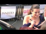 Lea Michele Signing Autographs At The Glamour Women Of The Year Awards 2012
