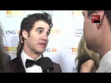 Darren Criss interview  at Trevor Projects - TREVOR LIVE AT THE HOLLYWOOD PALLADIUM