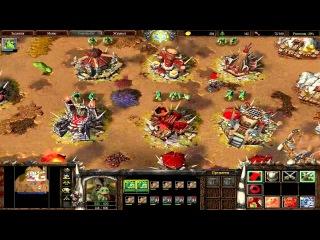 War 3 Король Мертвых 2 прохождение. Наступление Нер-Зула