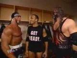 Funny Backstage Segment with Hulk Hogan, The Rock & Kane