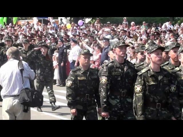 Парад в День Победы 9 мая 2012 г в Сумах
