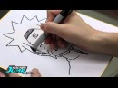 Масаси Кисимото рисует.Студия манги SHONEN JUMP