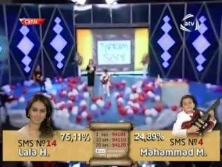 Məhəmməd Mustafalı & Reyhan Rəcəbova-Qarabağ şikəstəsiTanıdım Səni-Final.06.04.2012