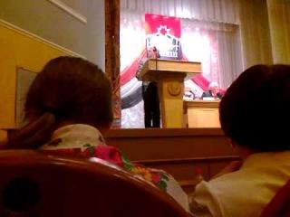 Выступление Леонида Гонина на съезде(Урал Кенеш видео)