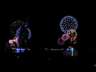 Burj Al Arab Fireworks display - 2012 New Year Eve Celebration