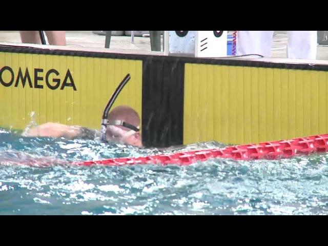 24th European Finswimming Championship Lignano Sabbiadoro nuoto pinnato 50 sf m
