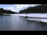 2 apexs and 1 ski doo water crossing