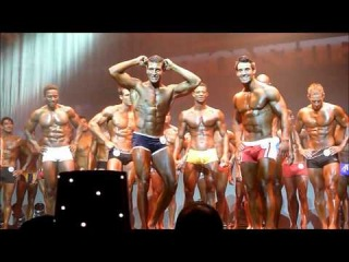 Top 10 Male Fitness Model Lineup- 2011 Wbff Central Us Champions