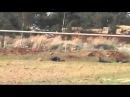 Сирия бои в Эс Сахве Повстанцы подползают к танку
