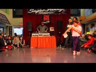 SUPER FUNKY 2012 | POPPIN TOP 8 | SNAP BOOGIE VS DASSY(WIN)