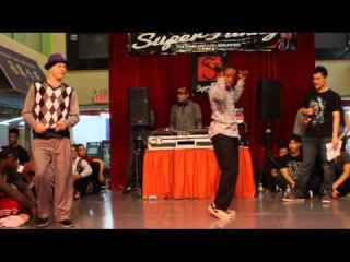 SUPER FUNKY 2012 | POPPIN SEMI-FINAL | JROCK(WIN) VS CATALYST