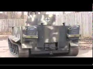 Парень сделал свой мини-танк