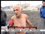 CTV - Qışda dənizdə çimən qoca (Reportaj)