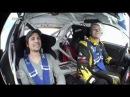 Eisspeedway Bike vs Rallye Bolide - Turbo Reporter Tommy Scheel mit der spektakulären Challenge