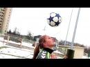 Mildos iššūkis: Žongliravimas su galva
