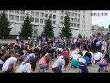 Flashmob на акции Free Kiss в КПИ