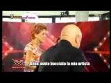 YouTube - X Factor 4 - I provini 824 - L'inatteso vaffanculo di Anna Tatangelo